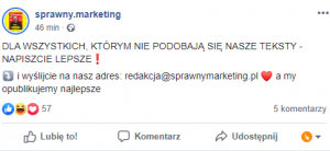 RTM - Real Time Marketing - przykład